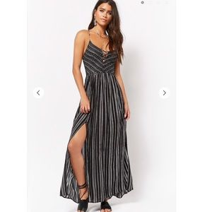 NWT Forever 21 Striped Maxi Dress Small